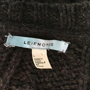 Anthropologie Sweaters - Leifnotes Anthropologie Abstract Garden Sweater